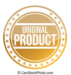 Original Product illustration design over white