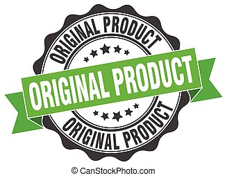original product stamp. sign. seal