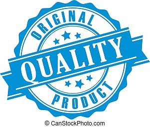 Original quality product vector stamp