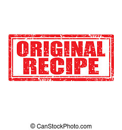 Original Recipe-stamp