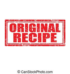 Original Recipe-stamp