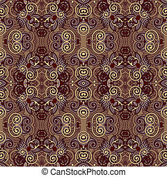original retro paisley seamless pattern