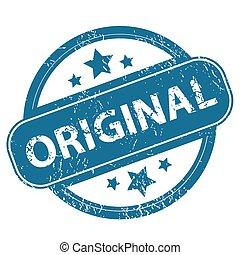 ORIGINAL round stamp