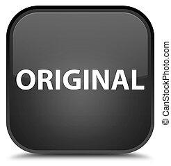 Original special black square button