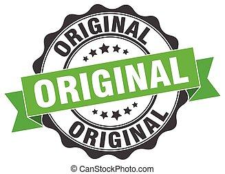 original stamp. sign. seal
