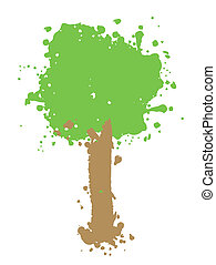 Original tree - Creative design of original tree