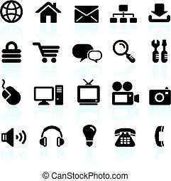 Original vector illustration: internet design icon set