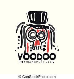 original, voodoo, magia, logotipo, modelo, desenho, com,...