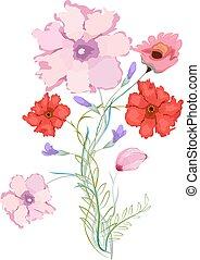 Original watercolor illustration
