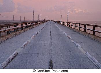 originale, sette, miglio, ponte