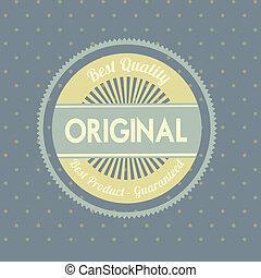 originale, sigillo