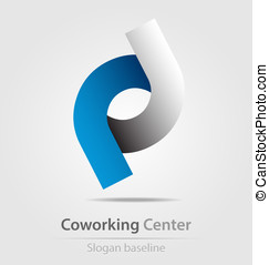 Originally designed business icon for creative work