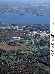 orillia, 航空写真, ゴルフコース
