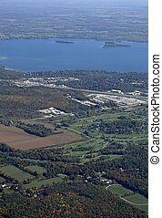 Orillia golf Course aerial