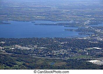 Orillia Ontario aerial