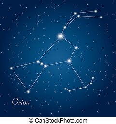 orion, constelación