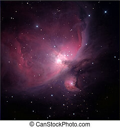 orion, låga, nebulosa