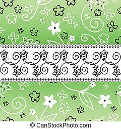 orizzontale, striscia verde, fondo