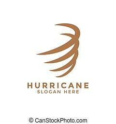 orkan, vektor, design, schablone, logo, ikone, wirbelwind
