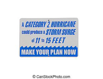 orkan, warnzeichen