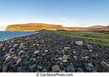 orkney, スコットランド, 湾, hoy, 島, rackwick