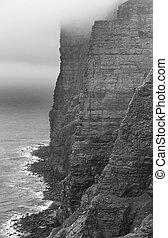 orkney., スコットランド, 風景, スコットランド, cliffs., hoy