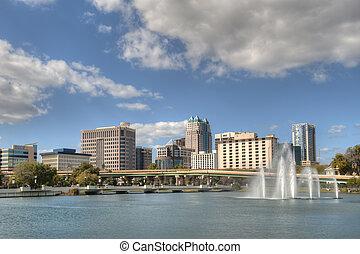 Orlando Central Business District - Orlando central business...