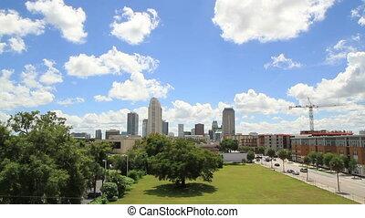 Orlando FL City Skyline Shot Seven