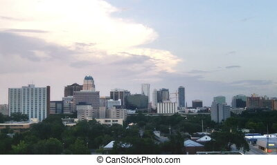 Orlando Florida Skyline Time Lapse