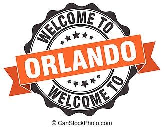Orlando round ribbon seal