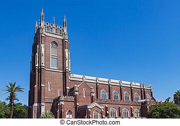 orleans, nave, sino, igreja, marco, novo, torre