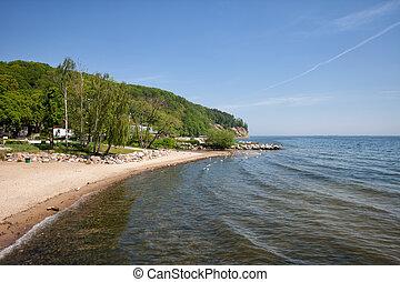 orlowo, praia, gdynia