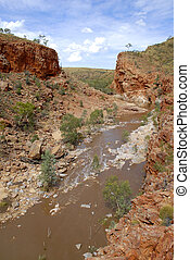 Ormiston Gorge Central Australia - Ormiston Gorge in Central...