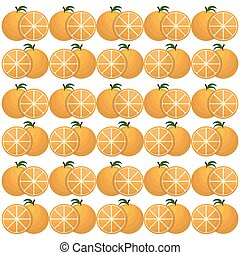 ornage seamless pattern design - orange seamless pattern...