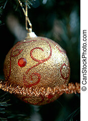 ornament., 圣誕樹