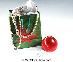ornament and bag
