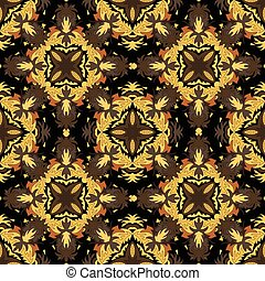 Ornament beautiful seamless pattern