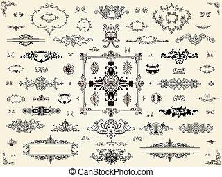 Ornament design elements