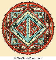 ornament, ethnische