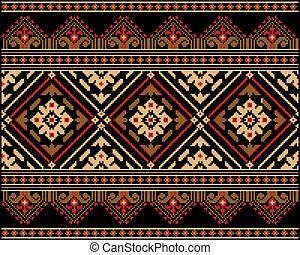 ornament., etniczny