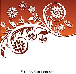 ornament, floral