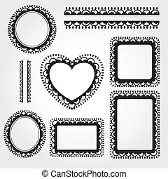 Ornament Frame Set
