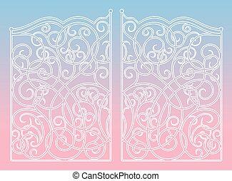 Ornament gates