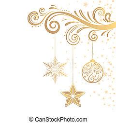 ornament, kerstmis