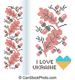 Ornament national Ukrainian
