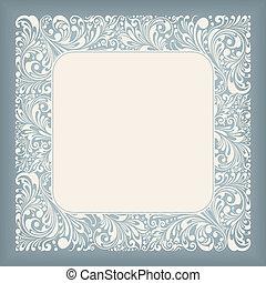 Ornament Square Label