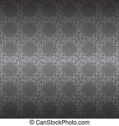 ornament., vector, seamless, geometrisch