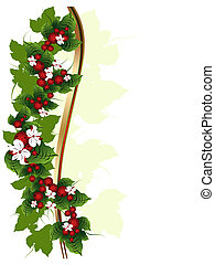 Ornament with berries