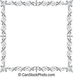 ornament_frame2_gray_square_ai10