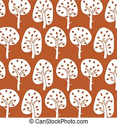 ornamental, árvore